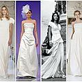 Aux couleurs de l'automne : la robe de la mariée