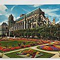 Bourges Jardin de l'hotel de ville