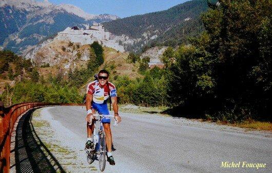 789) montée à vélo au Col Agnel (Queyras)