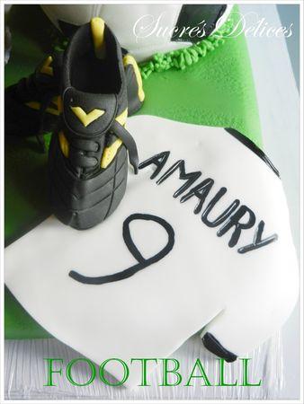 gâteau foot 2