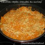 carottes surimi