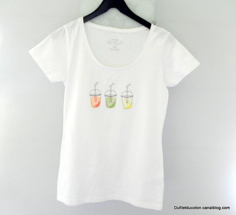 Tshirt boissons