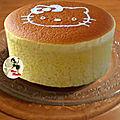 Cheesecake nuage japonais - ultra moelleux et facile