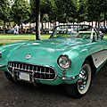 Chevrolet corvette convertible roadster 1956-1957