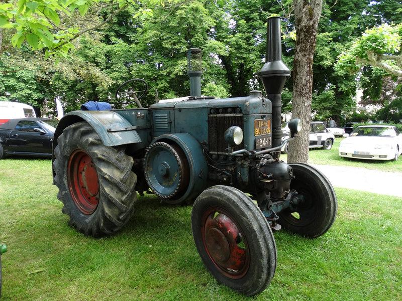 LANZ Bulldog type D8506 tracteur agricole Lons le Saunier (1)