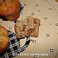 Muffins aux figues fraîches et aux noix