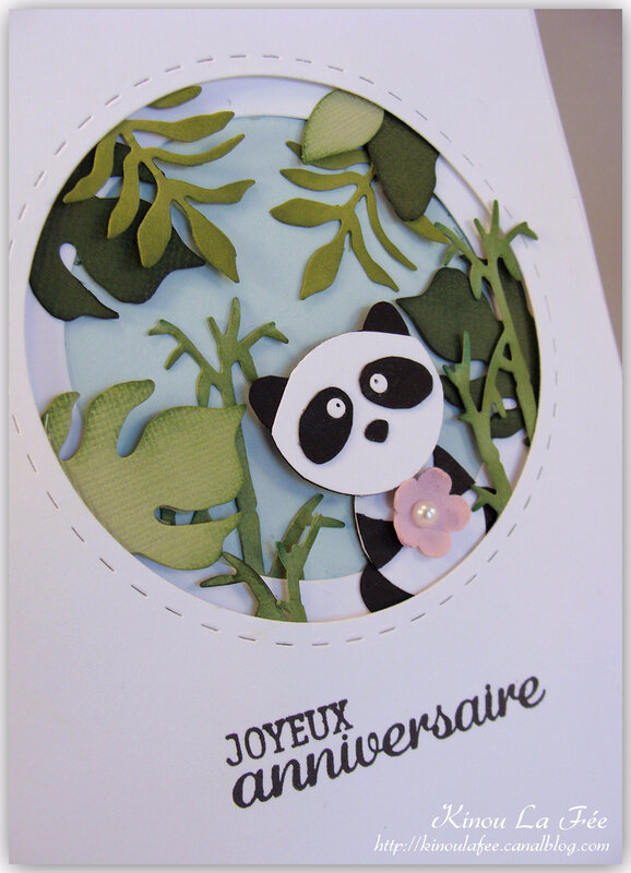 Carte Foxy Friend Panda 2