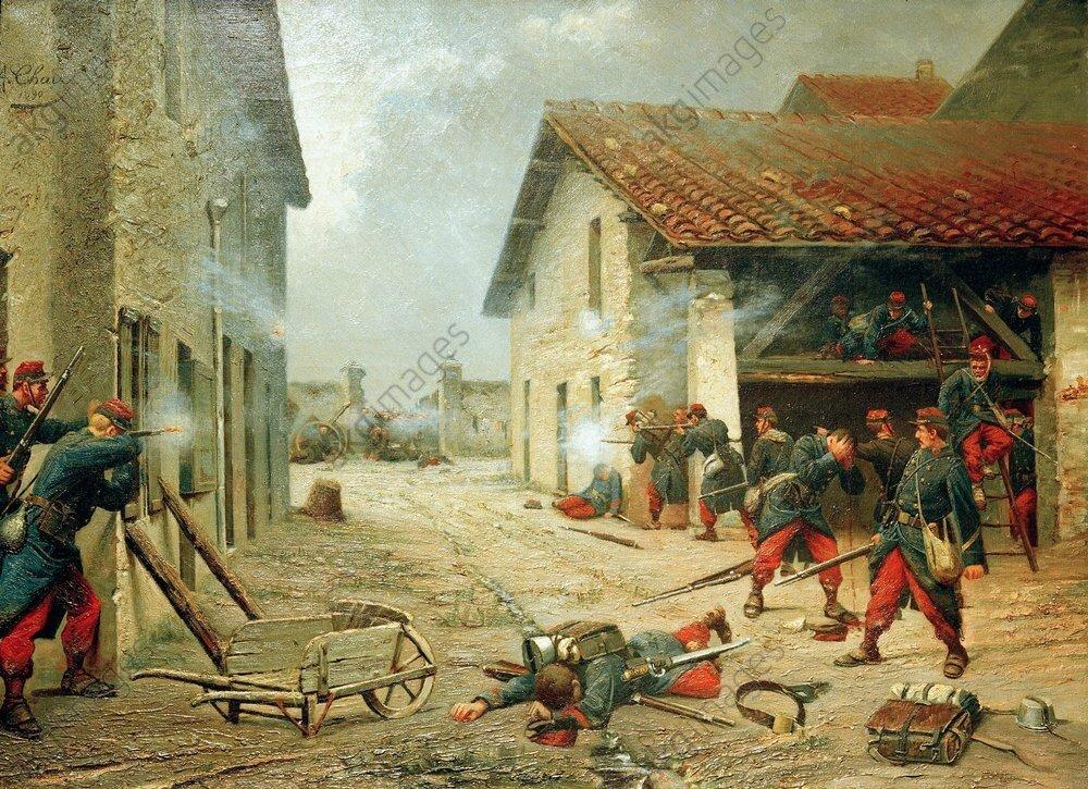 Chaix (Auguste), scène de la guerre de 1870 (1890)