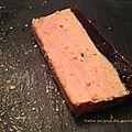 Terrine de foie gras et sa gelée de maury