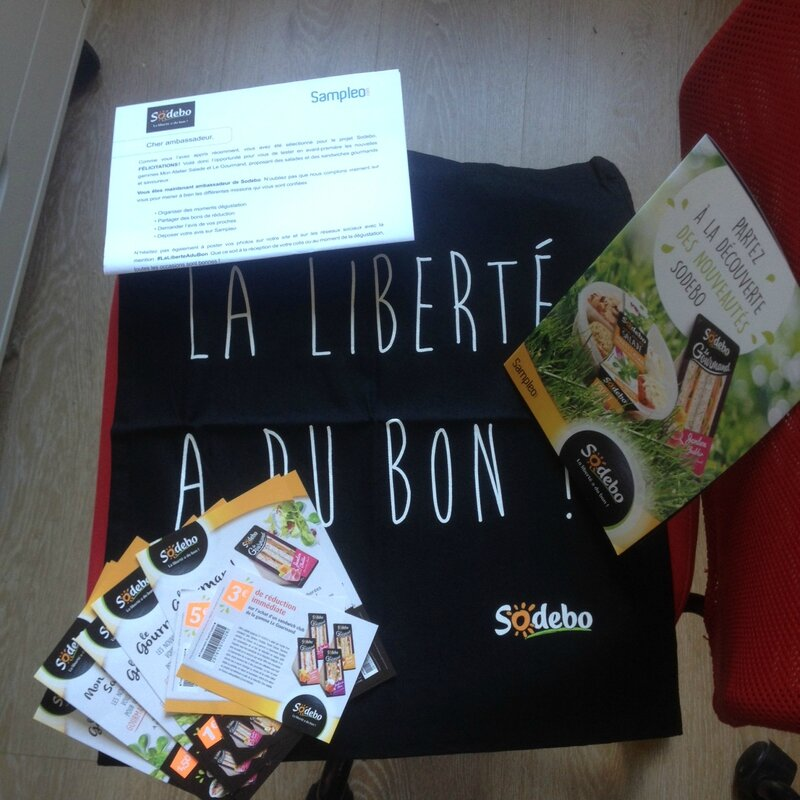 Test produit Sodebo reception