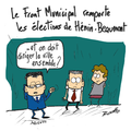 Hénin-beaumont, front national contre front municipal