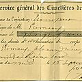Dimension : un document du 16 septembre 1871