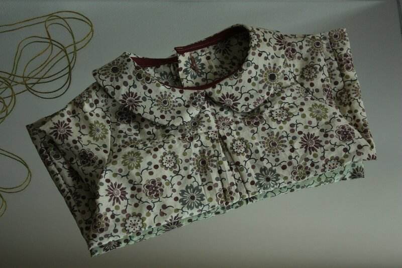 Liberty Mab burda pattern