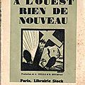 _a l'ouest, rien de nouveau_, d'erich maria remarque (1929)