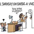 Sarkozy en garde-à-vue