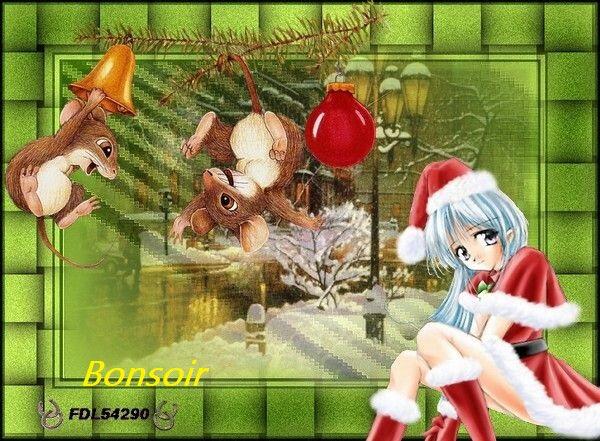 B S écureuils Noel BPat19