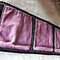 la pochette à sous-vêtements (4 poches)