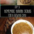 Top 5 des exfoliants naturels faits maison pour une peau éclatante