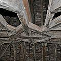 Dans le clocher de l'abbatiale de saint-cyprien