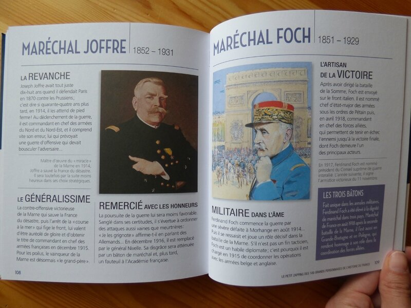 Le petit zapping des 100 grands personnages de l'Histoire de France (3)