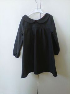 Robe blouse col claudine
