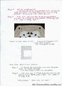 Tuto crochet plaid étoiles 002