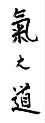 0 Kinomichi, calligraphie de maître Masamichi Noro