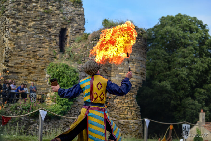 L'engouement des fêtes médiévales dans les Pays de La Loire et en France (7)