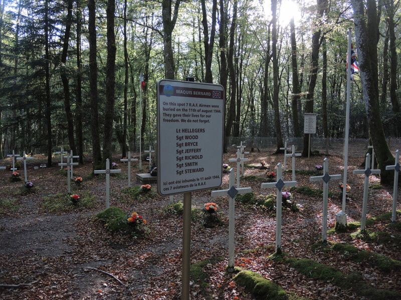 Coeuzon, cathédrale de verdure, cimetière