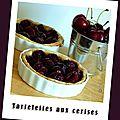 Tartelettes aux cerises