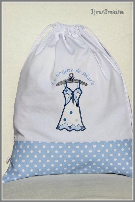 sac linge lingeire de Marie