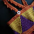 Le top triangle au crochet....