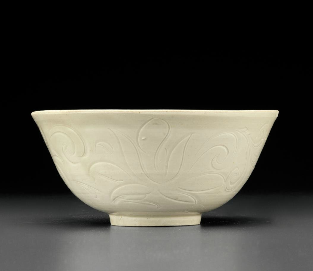 A Dingyao carved bowl, Northern Song-Jin Dynasty, 11th-12th century