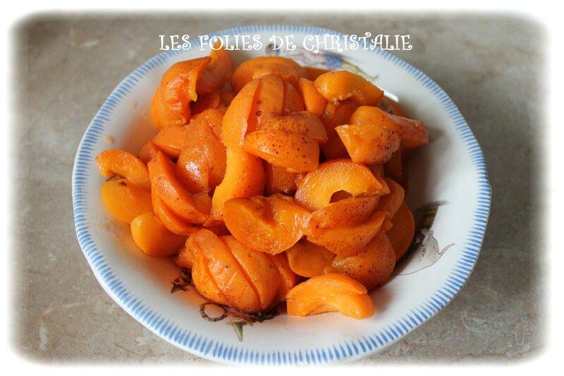 Tarte moelleuse abricots 2