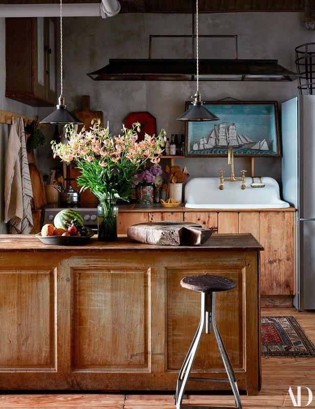 Vintage Eclectic Manhattan home of John Derian photos by Stephen Kent Johnson (8)