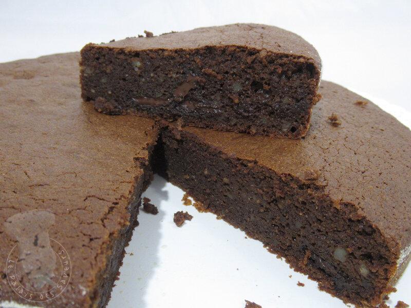 Gâteau chocolat pommes de terre