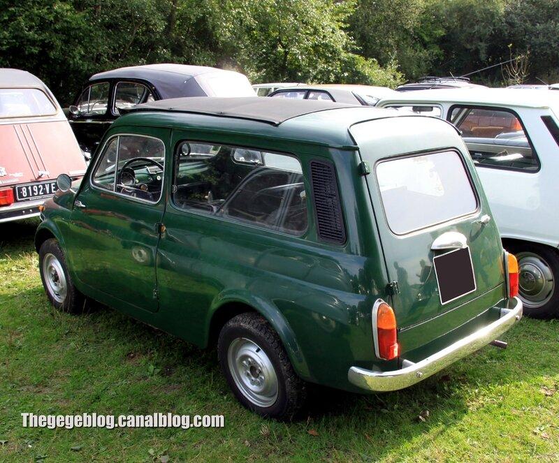 Fiat 500 jardinière (32ème Bourse d'échanges de Lipsheim) 02