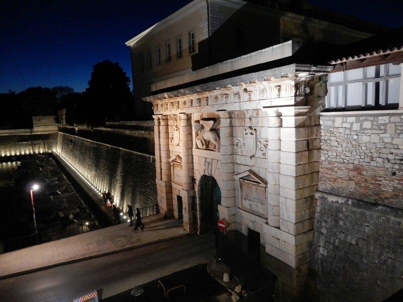 Zadar, le port de Fosa 190217 2