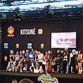 Remise des prix du concours cosplay du Vendredi