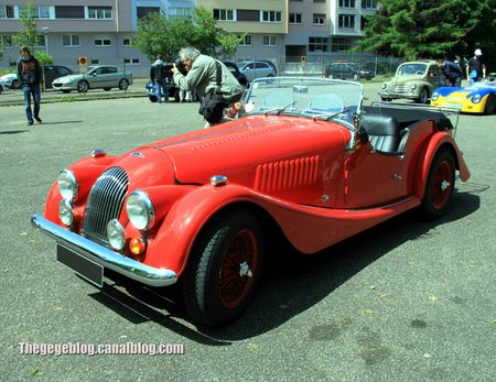 Morgan type 4 convertible (Retrorencard juin 2013) 01