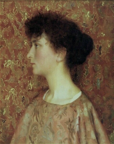 Gotch Thomas Cooper_Study_Of_A_Young_Woman D