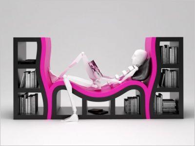 Changer Bibliothèque Fille By Déco Fauteuil De Stylish Une Very DEYWHI29