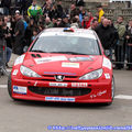 2009: Rallye du Pays Avallonnais/Départ
