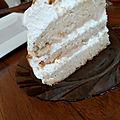 Layer cake pommes caramel
