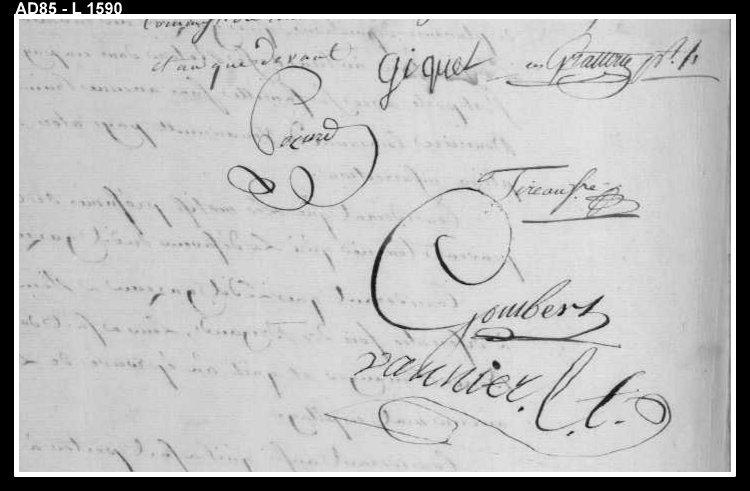 Gazeau signatures commission militaire