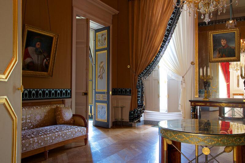 Le Salon égyptien, Hôtel de Beauharnais / photo C. Larit