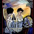 J'expose en tant qu' invite d'honneur ce week-end a esclavolles -lurey......face au miroir.....