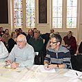 Les associations en réunion à la mairie