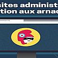 Arnaques aux faux sites administratifs
