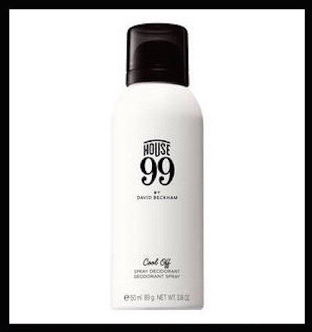 house 99 by david beckham deodorant spray